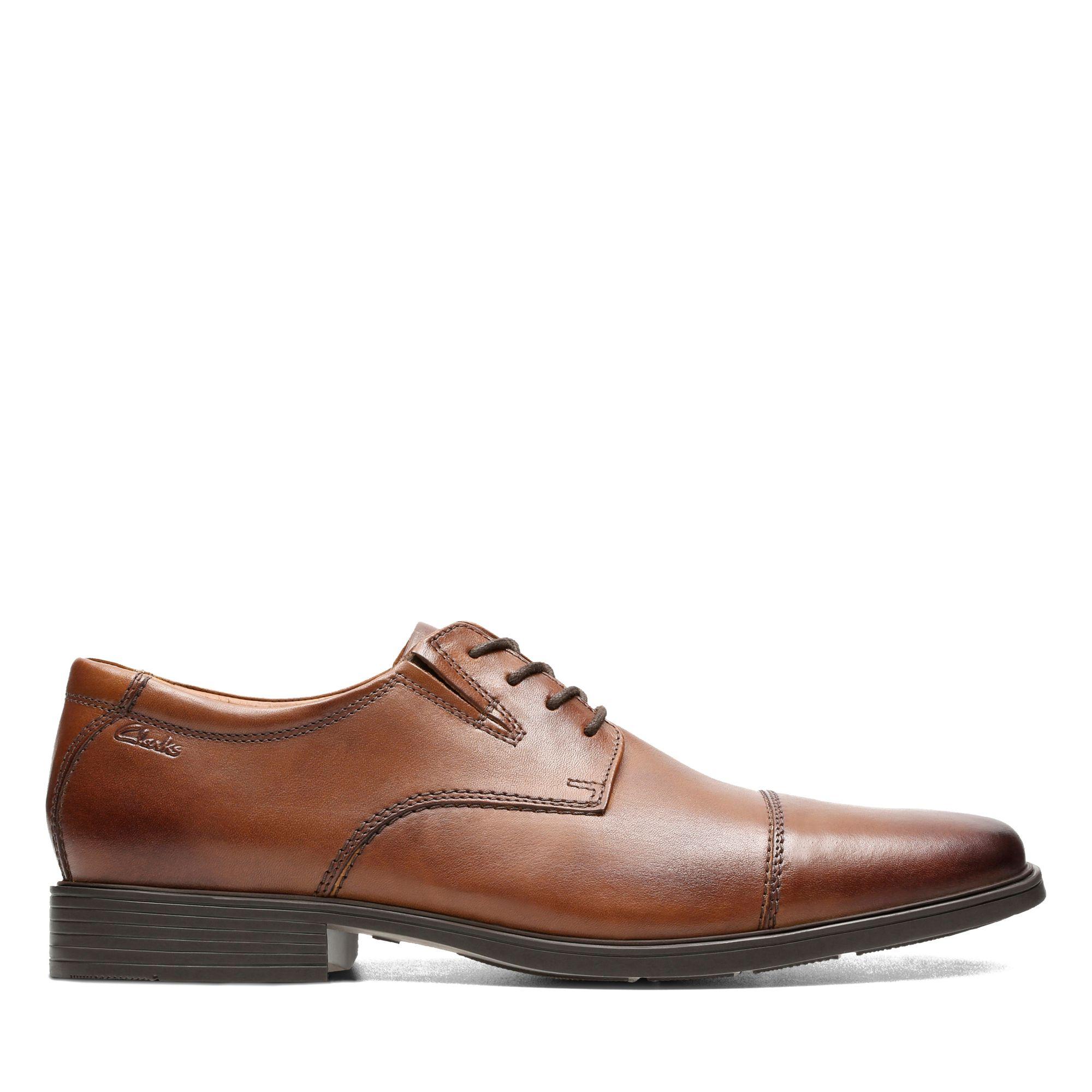 Clarks Tilden Cap – Leather