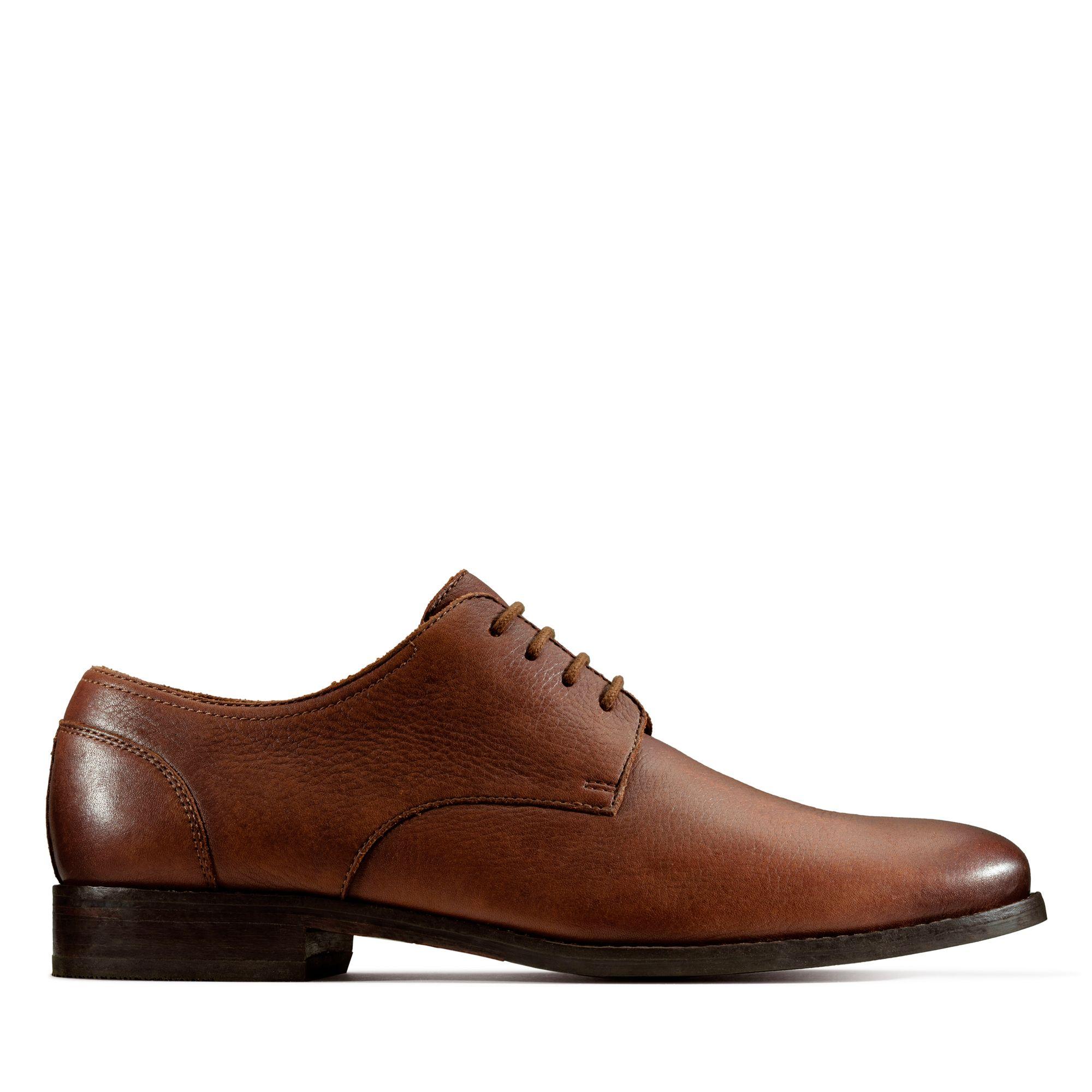 Clarks Flow Plain – Leather
