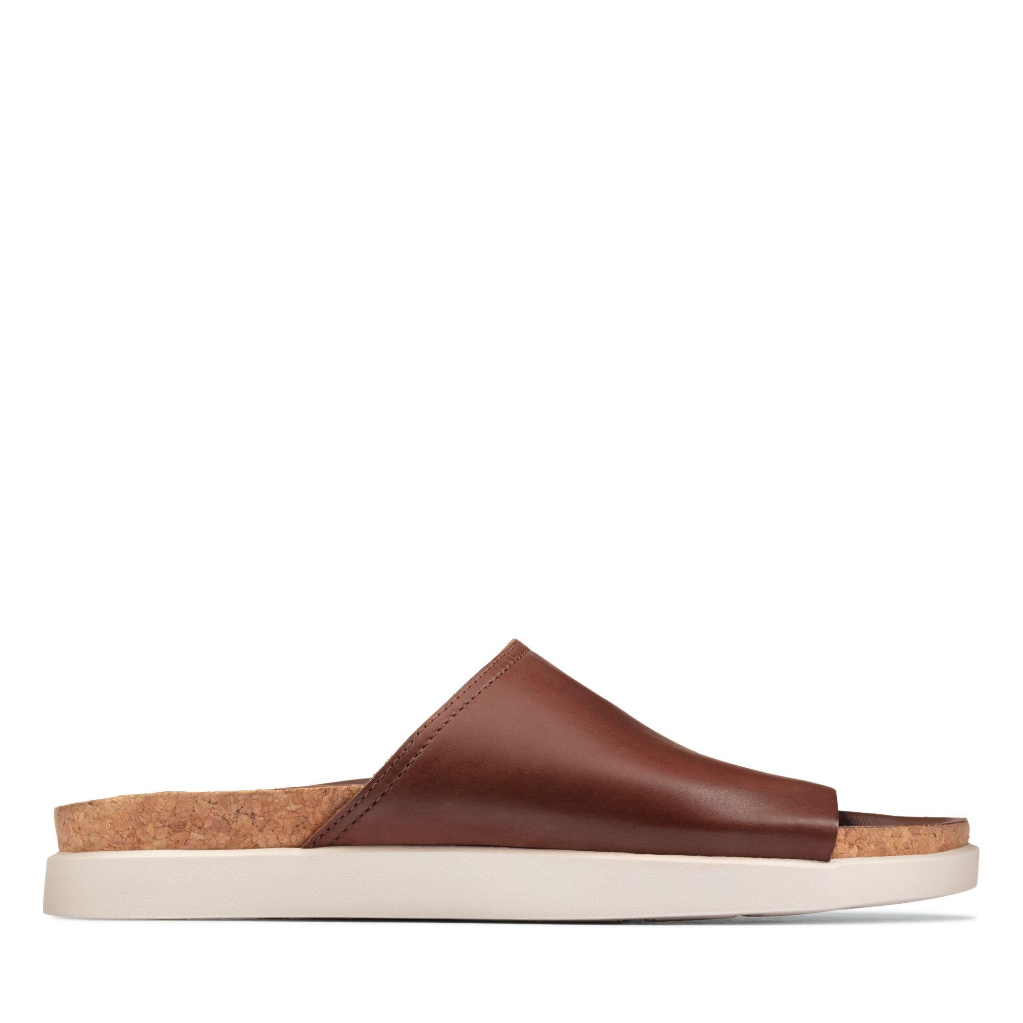Clarks Sunder Slide – Leather
