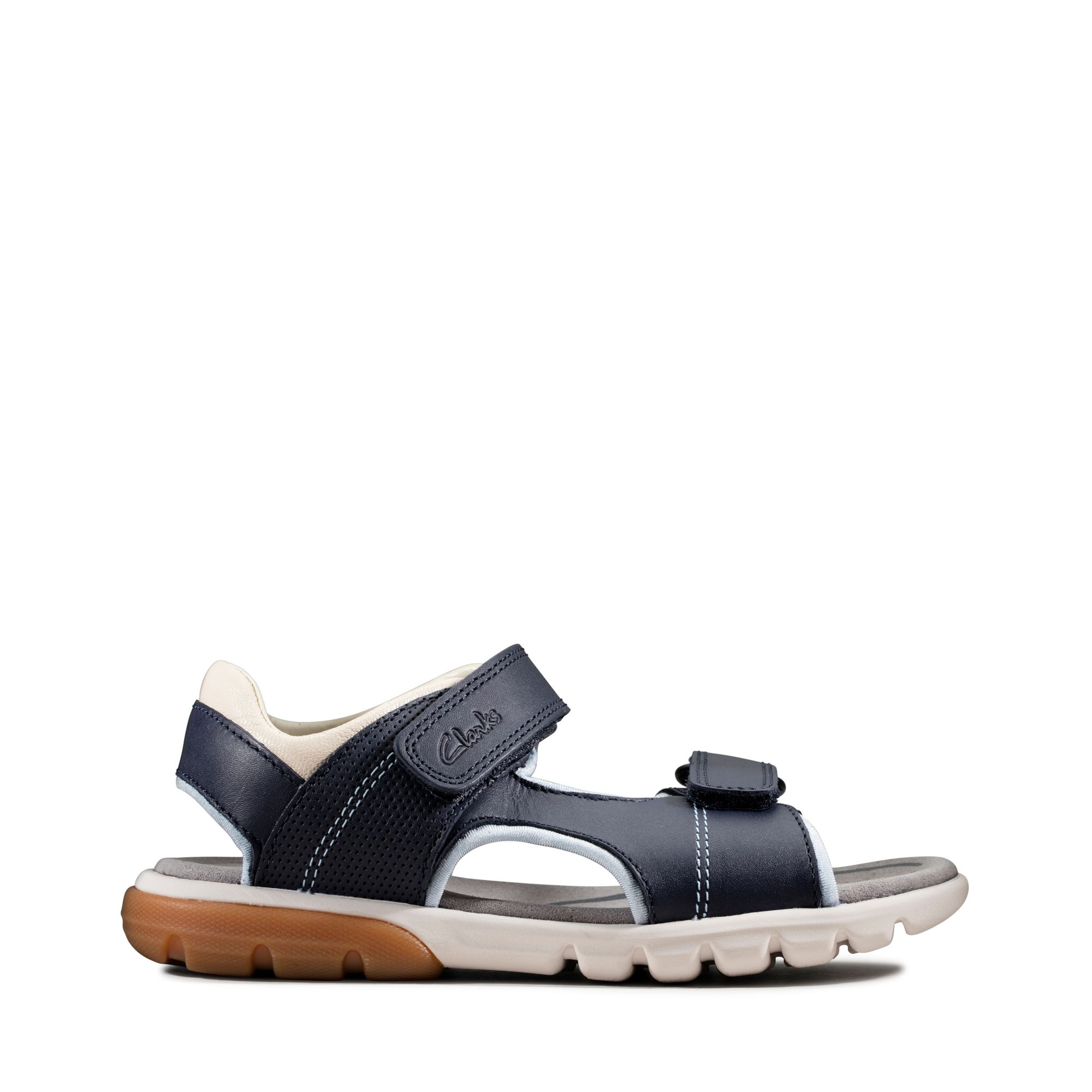 Clarks Rocco Wave Kid – Leather