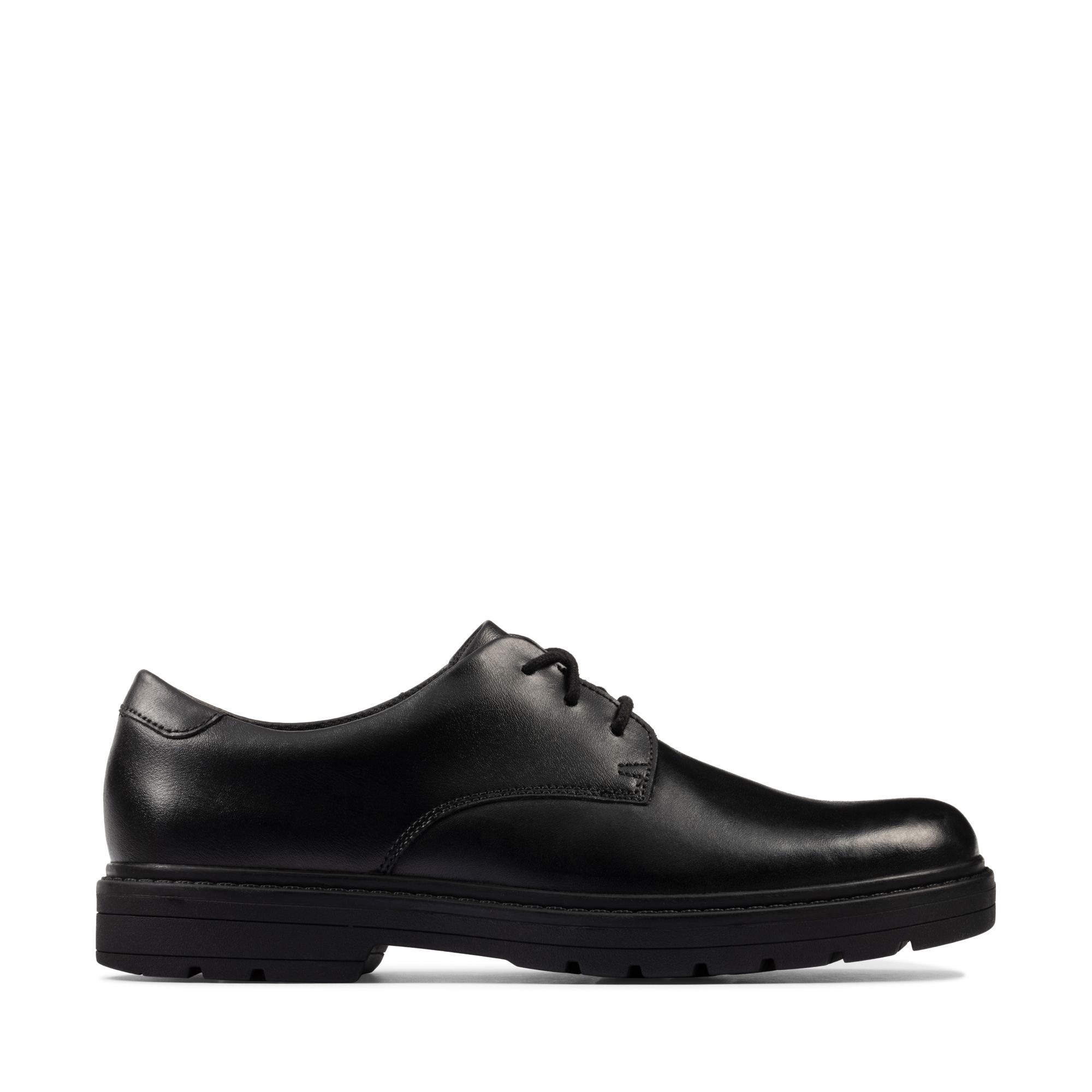 Clarks Loxham Derby Youth – Leather