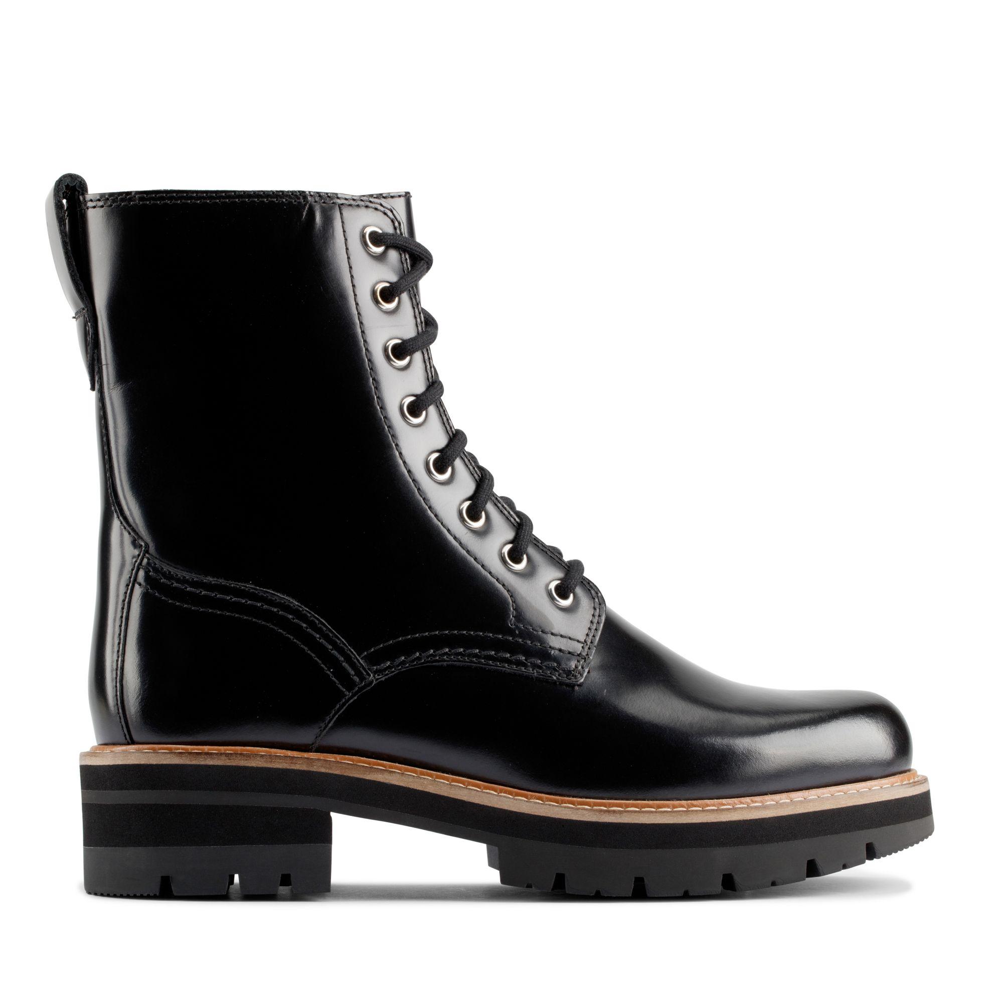 Clarks Orianna Hi – Leather