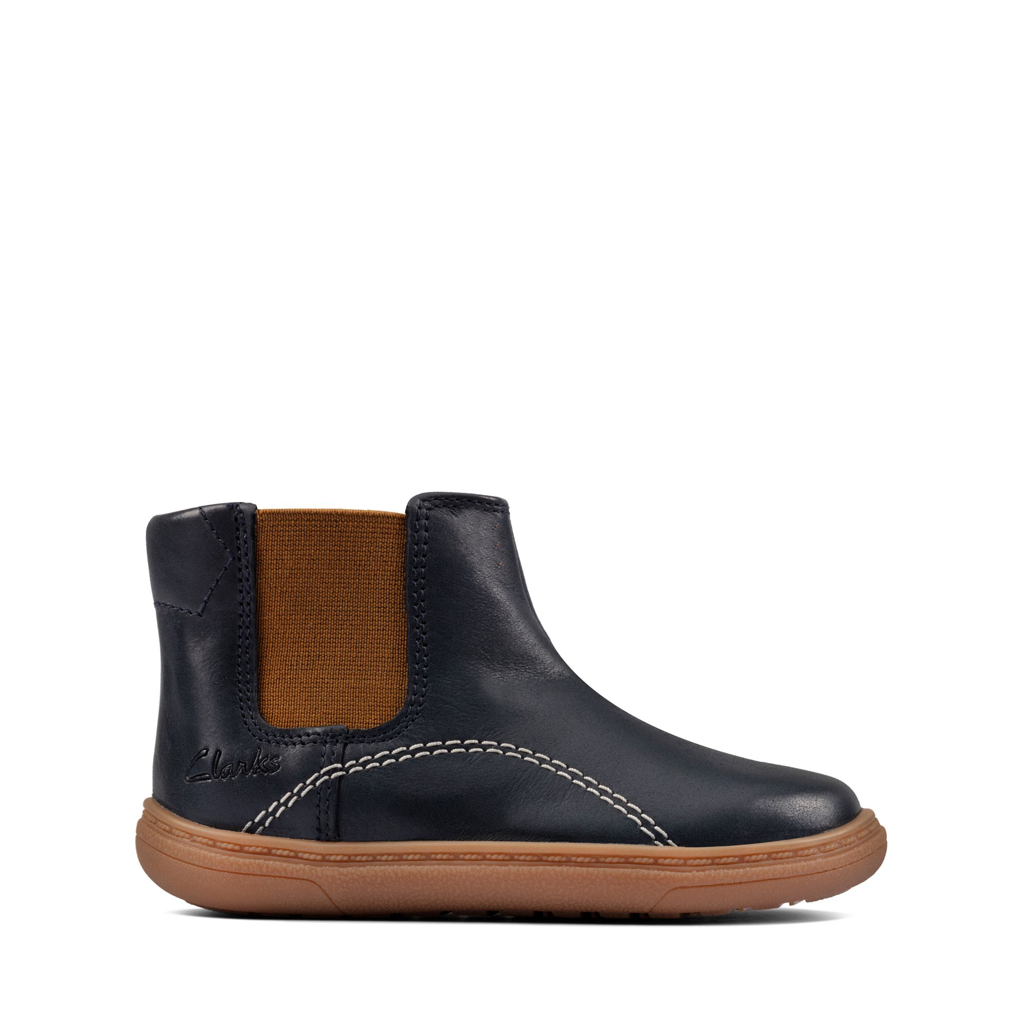 Clarks Flash Sea Toddler – Leather