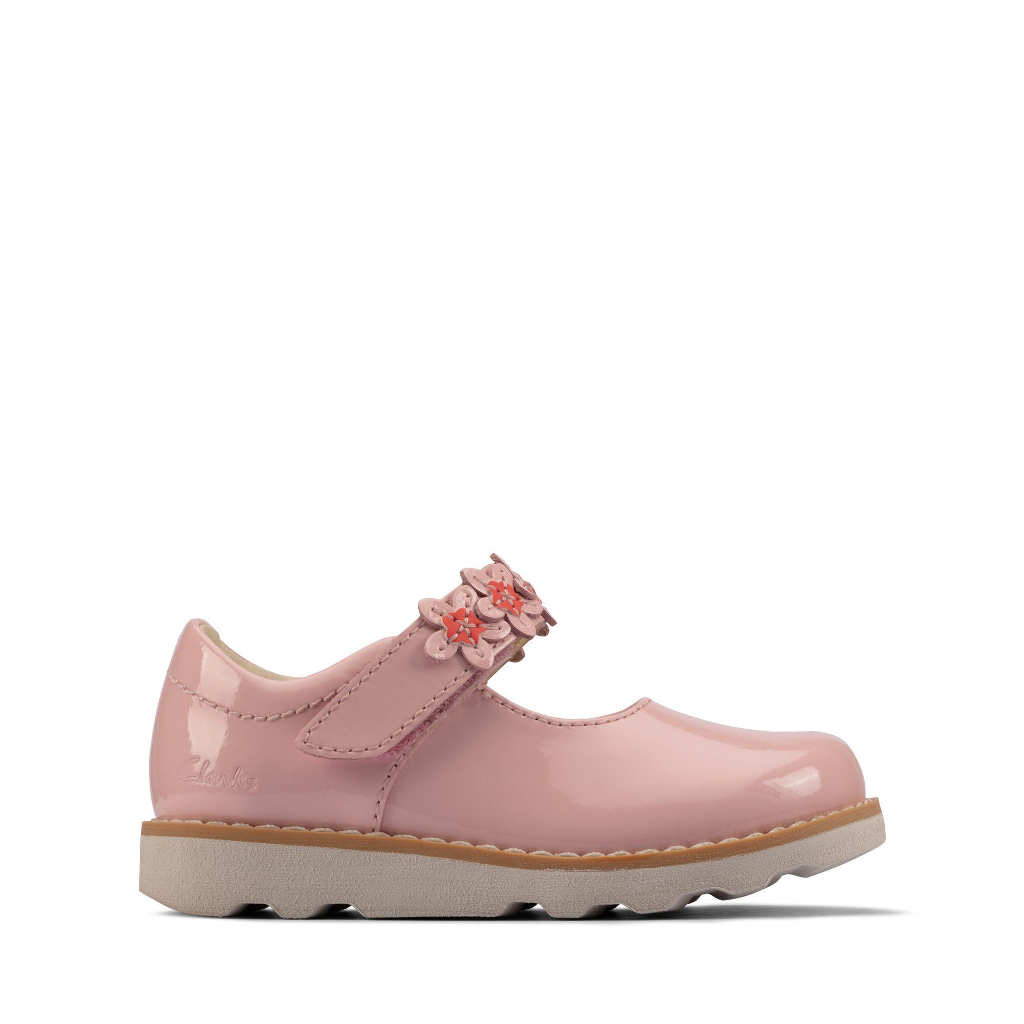 Clarks Crown Petal Toddler – Leather