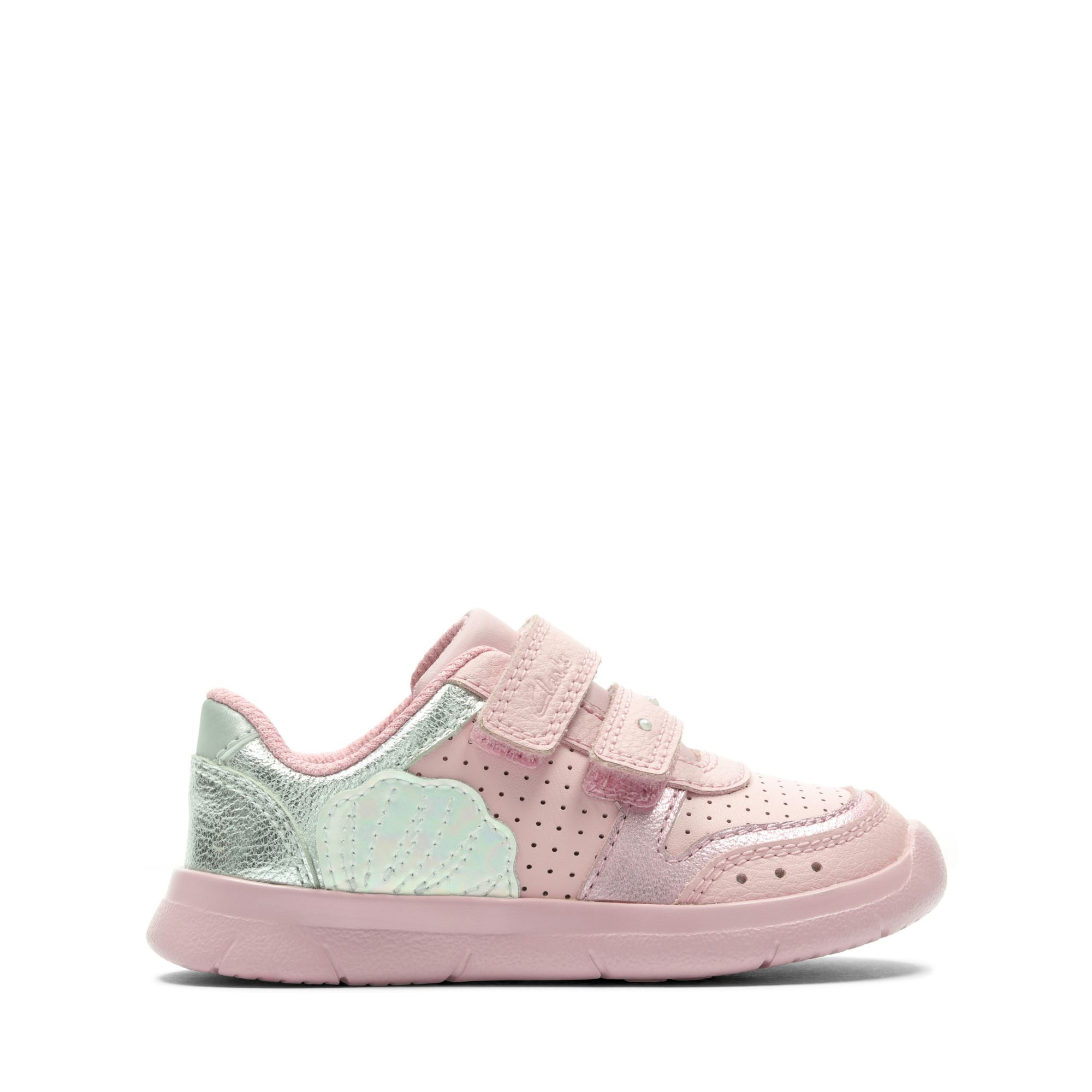 Clarks Ath Shell Toddler – Leather