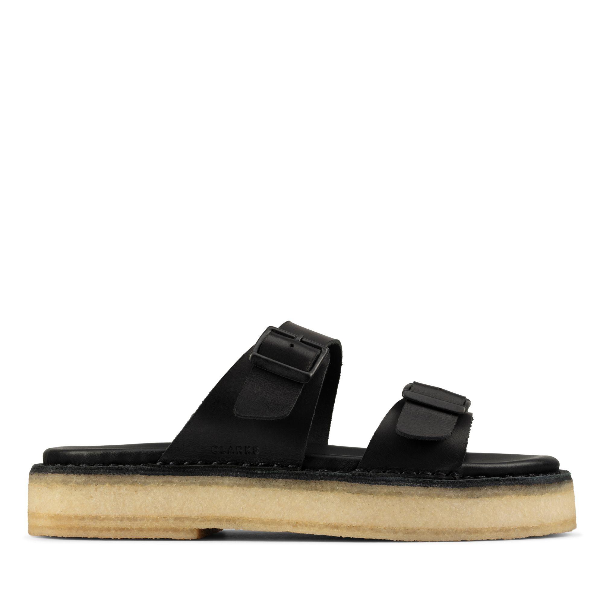 Clarks Desert Sndl – Leather
