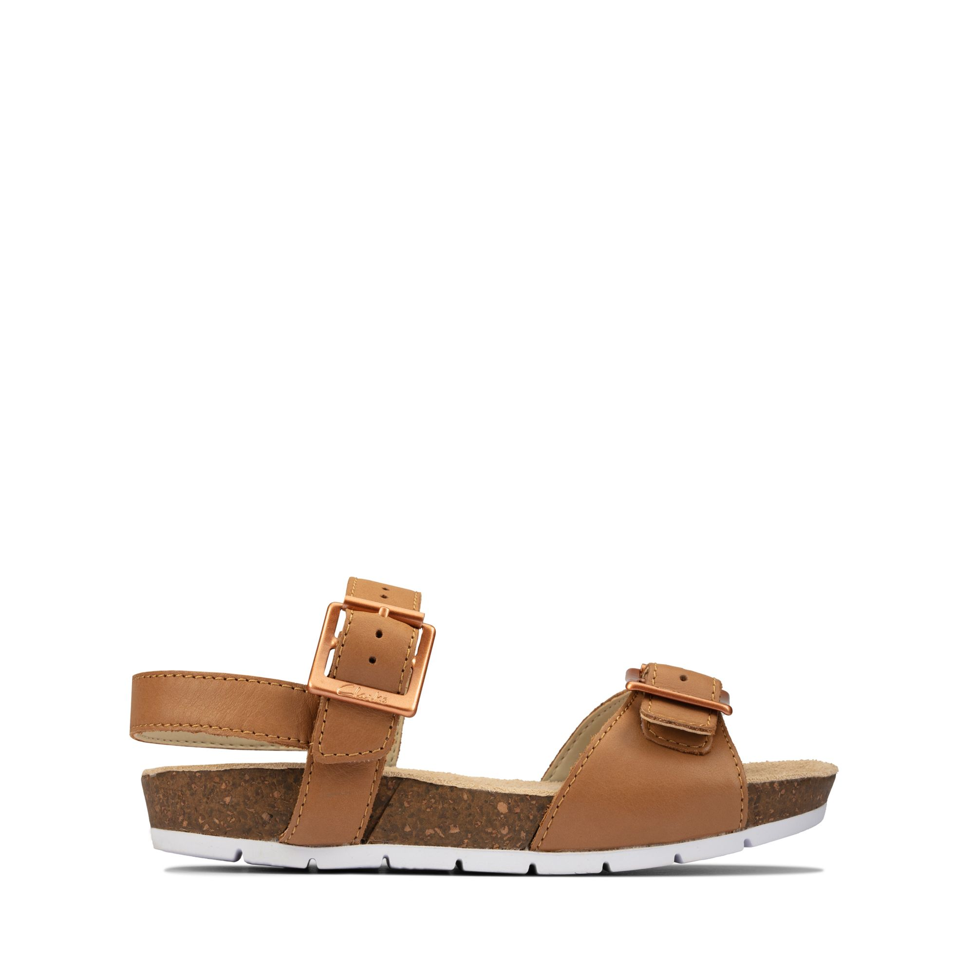 Clarks River Sand Toddler – Leather