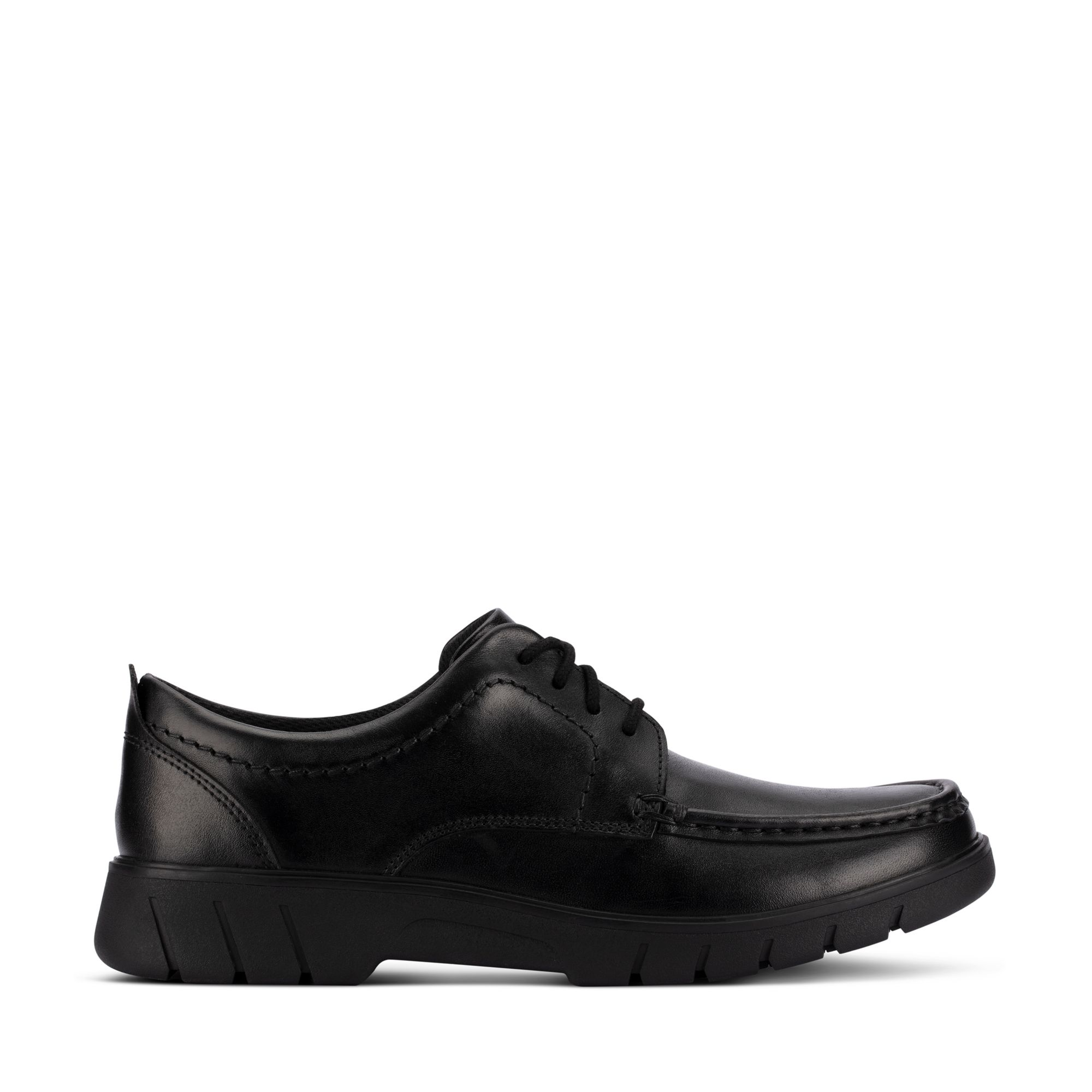 Clarks Branch Lace Youth – Leather