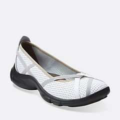 PBerry White Leather womens-active