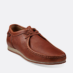 WALLABEE RUN Tan Leather