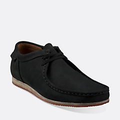 WALLABEE RUN Black Nubuck