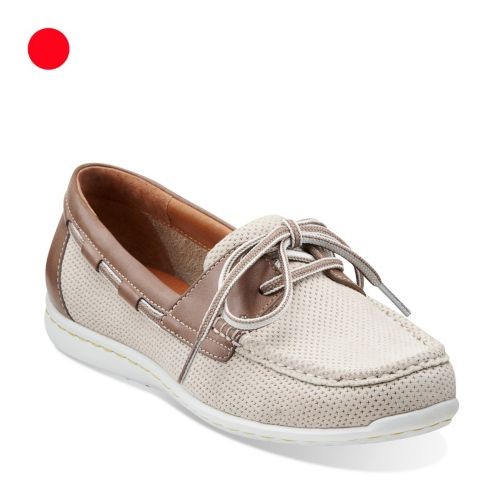 Cliffrose Sail Off White Nubuck womens-ortholite