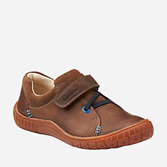 RAPPERFUN T Brown Leather