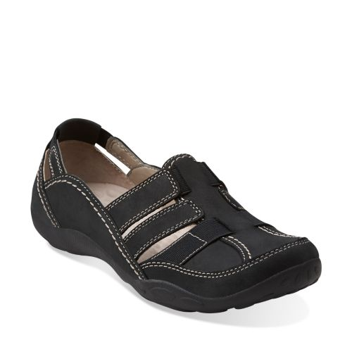 Haley Stork Black Nubuck sale-womens