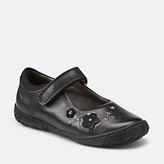 Hoola Game Toddler Black Leather girls-toddler