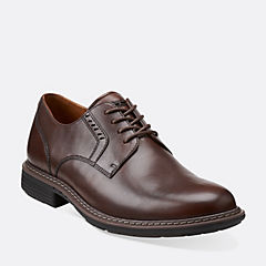 Un.Walk Walnut Leather mens-wide-width