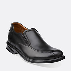 Colson Knoll Black Leather mens-wide-width