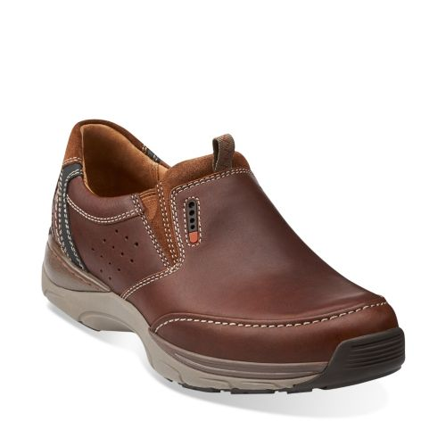 Skyward Free Brown Leather mens-ortholite