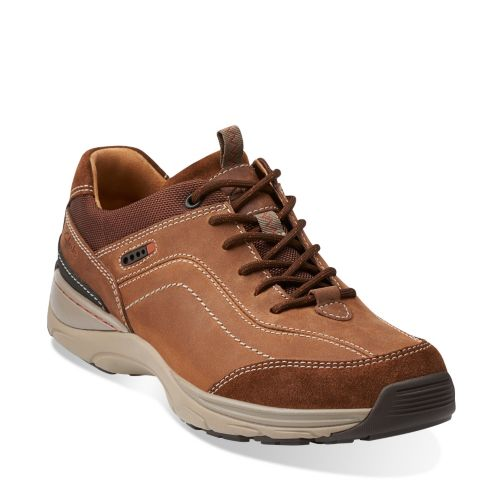 Skyward Vibe Tobacco Nubuck mens-ortholite