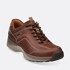Skyward Vibe Brown Leather mens-ortholite