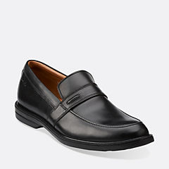 BILTON SADDLE Black Leather