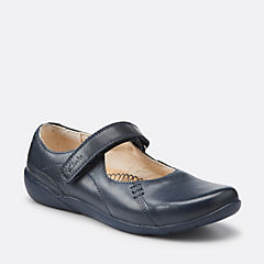 GENIUSWORD JNR Navy Leather