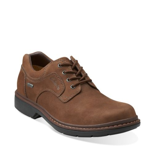 Rockie Lo GTX Dark Brown Nubuck mens-oxfords-lace-ups