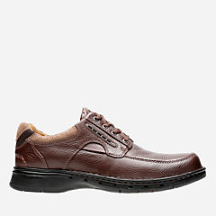 Un.Bend Brown Leather mens-wide-width
