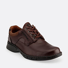 Un.Ravel Brown Leather mens-oxfords-lace-ups