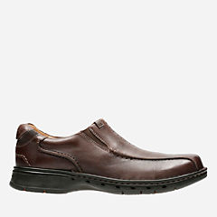 Un.Seal Brown Leather mens-unstructured