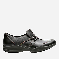 Wave.Run Black Leather womens-narrow-width