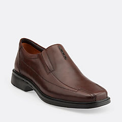Un.Sheridan Dark Brown Leather mens-unstructured