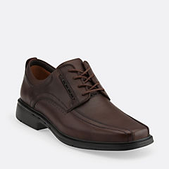 Un.Kenneth Dark Brown Leather mens-narrow-width