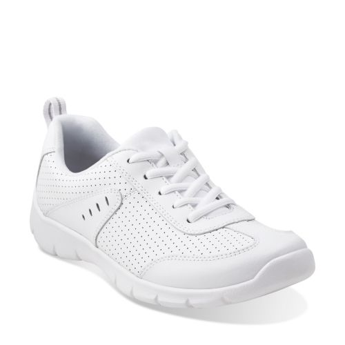 Home > Womens > Walking Shoes > Hedge Manor 2   White Leather