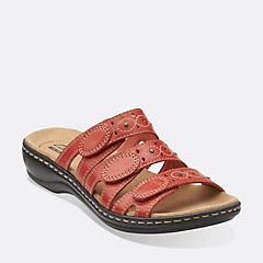 Leisa Cacti Q Coral Leather womens-sandals-slides