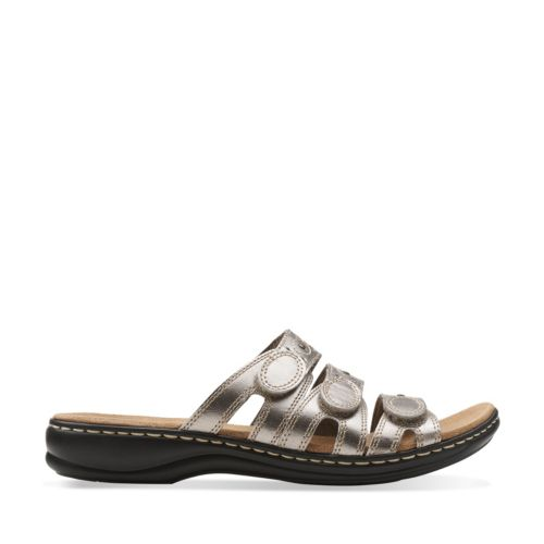 Leisa Cacti Q Pewter Leather sale-womens