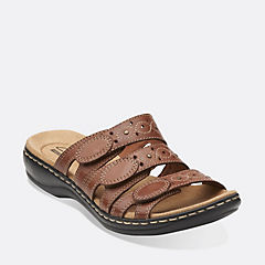 Leisa Cacti Q Tan Leather sale-womens