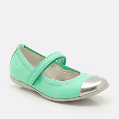Dance Bee Mint Leather