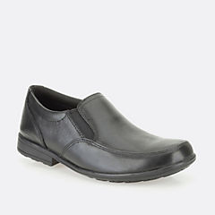 Kooru Step Jnr Black Leather