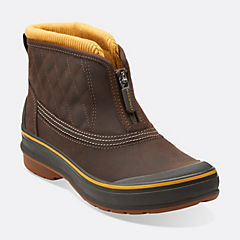 Muckers Slope Brown Leather womens-ankle-boots
