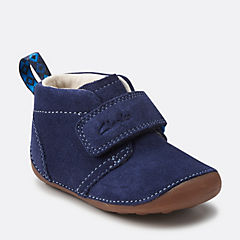 Tiny Hero Navy Suede