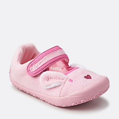 Angel Dreams First Pink Synthetic girls-slippers