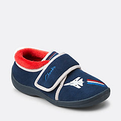 Jet Sleep Toddler Navy Combi Syn boys-slippers