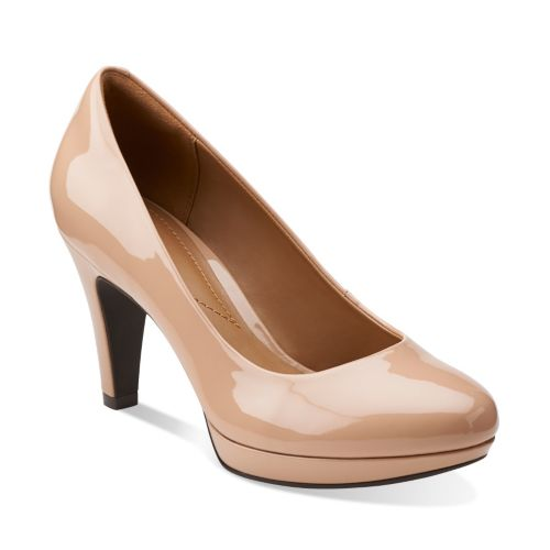 Brier Dolly Nude Synthetic womens-wide-fit-heels