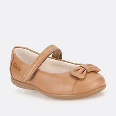 DanceHarperFst Tan Leather
