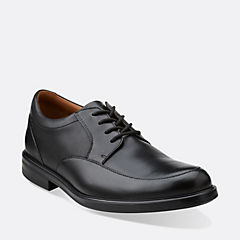 Gabson Apron Black Leather mens-dress-shoes