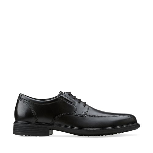 Bardwell Walk Black Leather mens-wide-width