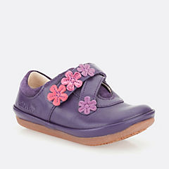 Elza Step Fst Purple Leather