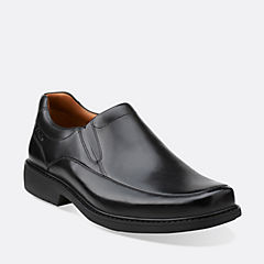 Gatewood Step Black Leather