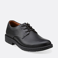 Stratton Way Black Leather
